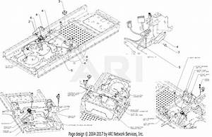 Troy Bilt 17arcacs011 Mustang Xp 42  2016  Parts Diagram