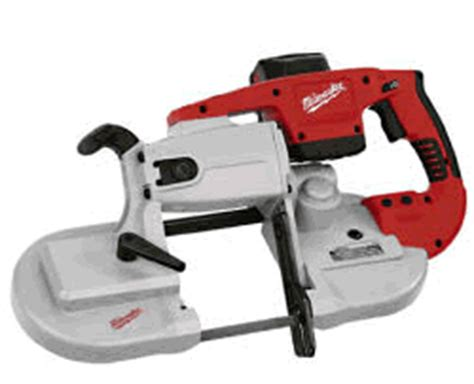 milwaukee tool shed band milwaukee v28bs v28 lithium ion cordless band saw kit 28
