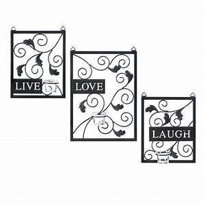 live love laugh wall decor wholesale at koehler home decor With live love laugh wall decor