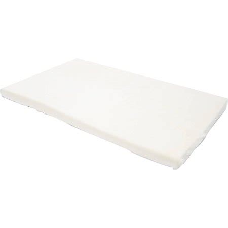 crib mattress topper milliard 2 quot memory foam crib toddler bed mattress topper
