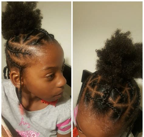 simple hair styles for little black girls braids beads