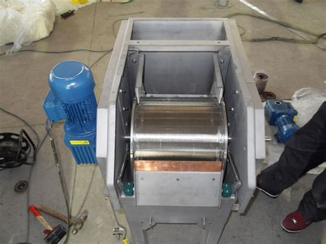 high reliability drum screen wastewater treatment