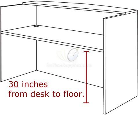 average reception desk height get valencia series reception desk with transaction