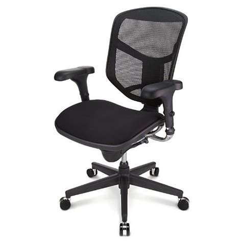 workpro quantum 9000 series ergonomic mid back mesh fabric
