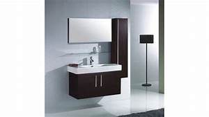 Meuble Salle De Bain Rangement : ensemble meuble salle bain simple vasque colonne murale ~ Dailycaller-alerts.com Idées de Décoration