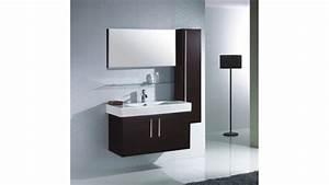 ensemble meuble salle bain simple vasque colonne murale With salle de bain design avec meuble colonne salle de bain castorama