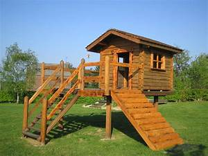 Cabane Toboggan Pas Cher : chalet en bois enfant les cabanes de jardin abri de ~ Dailycaller-alerts.com Idées de Décoration