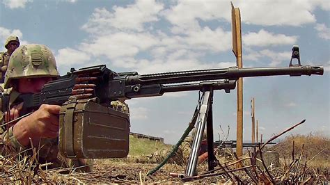 Georgia Army Pkm Machine Gun Range