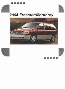 Ford Freestar  Mercury Monterey 2004 Factory Service  U0026 Shop Manual