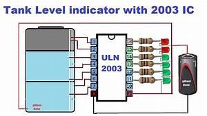 Water Level Indicator Using Ic 2003