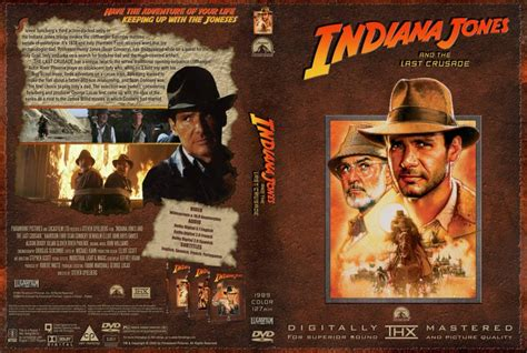 indiana jones    crusade  dvd custom