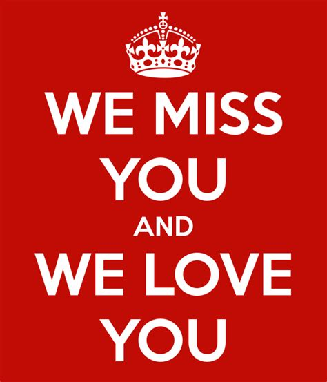 We You Images We Miss You And We You Poster Johanna Keep Calm O