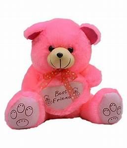 Erabbit Cute Pink Teddy Bear with Best Friend Quote - Buy ...