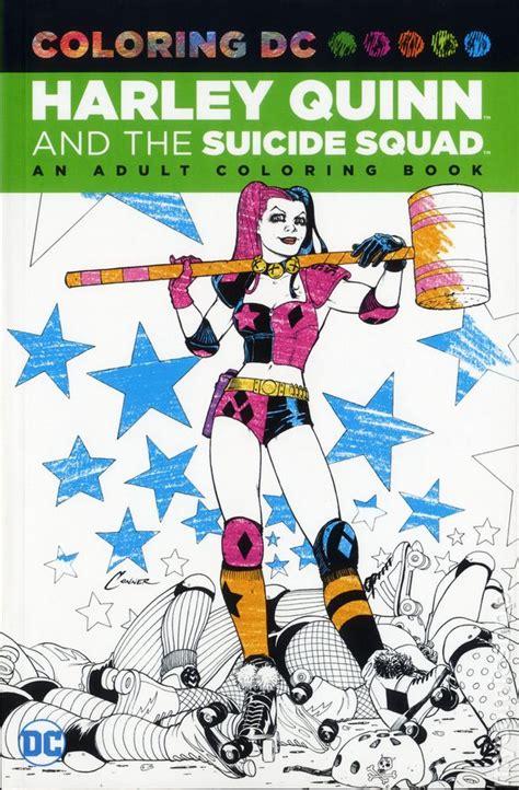 coloring dc harley quinn  suicide squad sc  dc