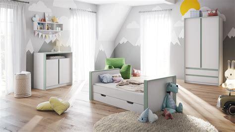 Babyzimmer Bett Und Wickelkommode by Babyzimmer Kinderzimmer Schrank Bett Wickelkommode