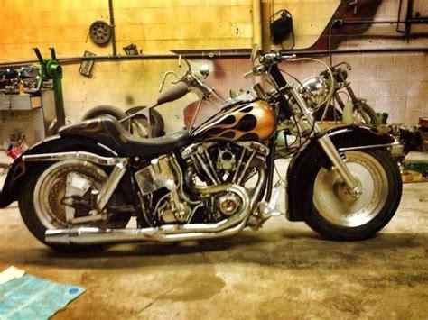 Custom Harley Davidson Flh Shovelhead