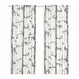 Double Rideaux Ikea : perfect passants cachs permettent de suspendre les rideaux directement sur with double rideaux ~ Teatrodelosmanantiales.com Idées de Décoration