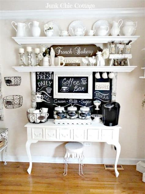 Home Coffee Bar Design Ideas by 49 Exceptional Diy Coffee Bar Ideas For Your Cozy Home
