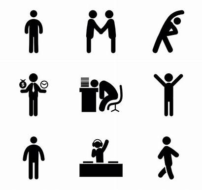 Human Humans Icon Icons Figure Clipart Resources