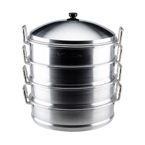 Panci Kukus Maspion Murah jual maspion panci kukus 4 susun silver 36 cm