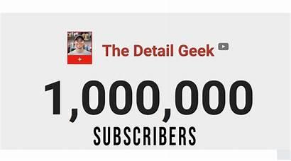 Giveaway Geek Subscriber Million