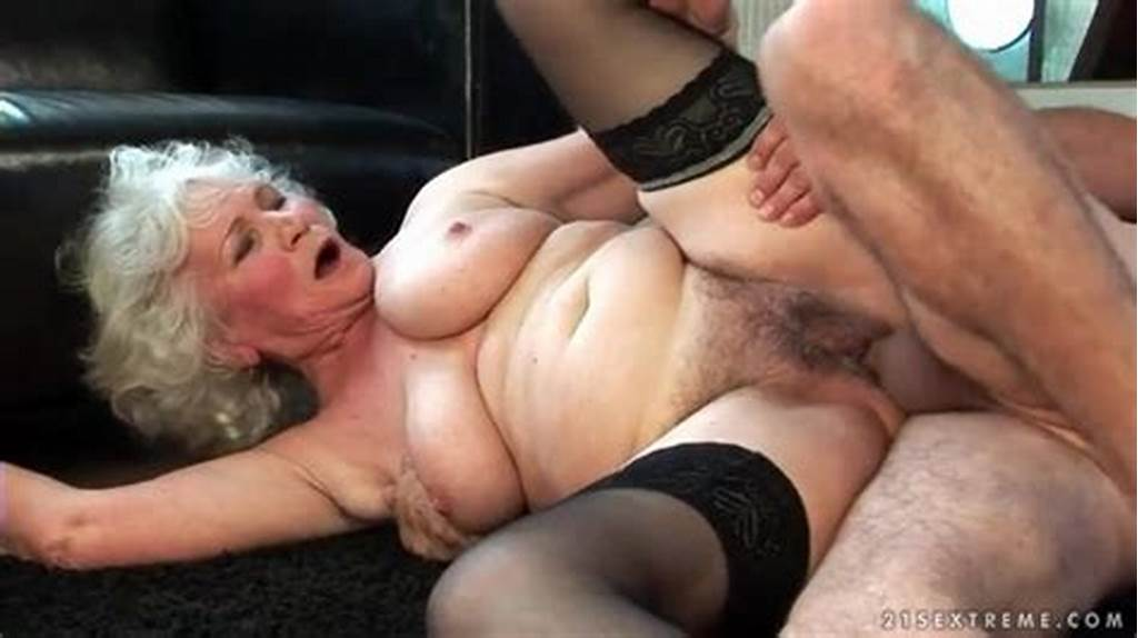 #Granny #Fucked #In #Hairy #Box #By #Rock #Hard #Cock