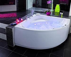 Baignoire Angle Douche : petite baignoire d 39 angle ~ Voncanada.com Idées de Décoration