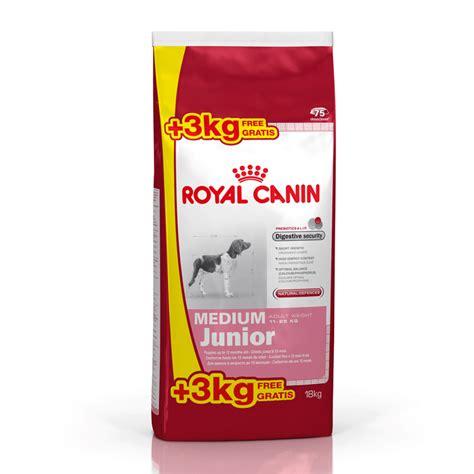 royal canin medium junior royal canin medium junior de 15 kilos al precio m 225 s barato