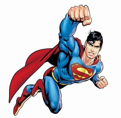 Superman Clipart Superhero Flying Hero Character Clipartion