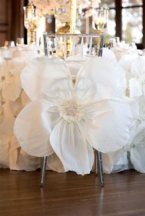 decoration chaise mariage decoration de chaise mariage pas cher idées et d