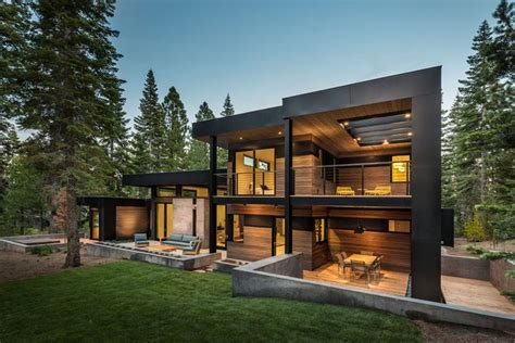 contemporary house designed  relaxing environment