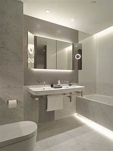 8 best images about led strip lights in bathrooms on With carrelage adhesif salle de bain avec rail alu led