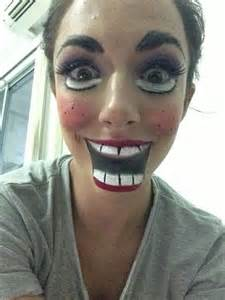 Scary Doll Halloween Makeup Ideas