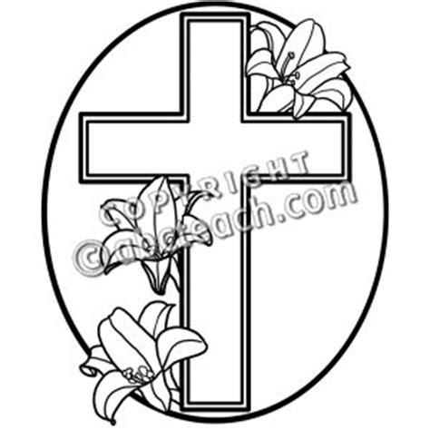 easter cross clipart black and white easter cross clipart black and white clipground