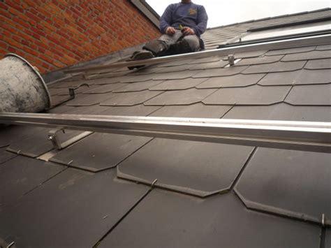 leien dak zelf plaatsen zonnepanelen leien dak aanbouw huis voorbeelden