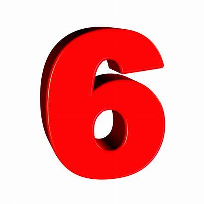 Number Six Transparent Pixabay Clipart Numbers цифра