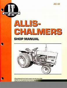 Allis Chalmers 5020 5030 Service Shop Repair Manual