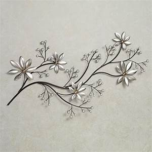 Floral metal wall art nice decor