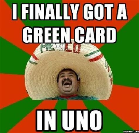 Green Card Meme - 3 and a half years later i receive my green card a new life wandering