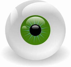 Green Eyeball Clip Art at Clker.com - vector clip art ...