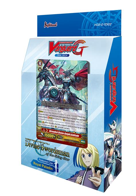 Vanguard Trial Deck 1 by Cardfight Vanguard G Trial Deck Vol 2 Swordsman