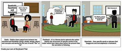 Literary Devices Storyboard