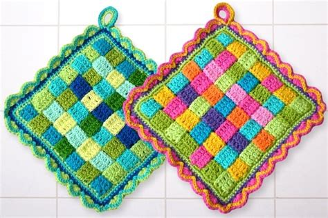 crochet potholders potholder crochet patterns
