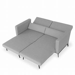 canape scandinave convertible harvey gris drawer With tapis d entrée avec natuzzi canape lit
