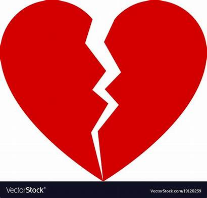 Broken Heart Vector Clipart Divorce Royalty Sacred