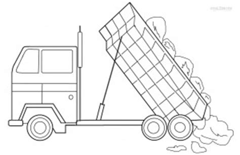 printable dump truck coloring pages  kids coolbkids