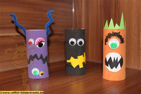 Halloween Recycling Basteln Fuer Kinder (22) › Raffini