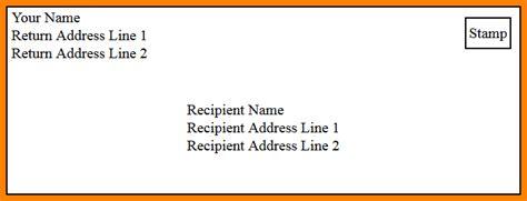 envelope address template letter format envelope formal letter template