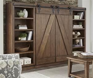 liberty furniture lancaster 712 entw ecp entertainment With barn door entertainment unit