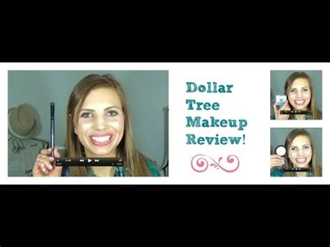 Dollar Tree Makeup Review  Youtube